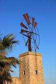 Old broken down windmill — Stock Photo