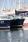 Luxury catamaran — Stock Photo