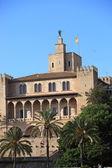 Almudaina,帕尔马的皇宫。 — 图库照片