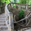 Ornamental stone bridge — Stock Photo