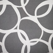 Abstract pattern of interlocking circles — 图库照片