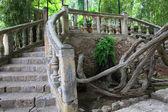 Ornamental stone bridge — Stock Photo