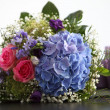 Unusual bridal bouquet — Stock fotografie