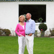 Successful senior couple in retirement — Foto Stock