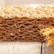 Wheat crispbread — Stockfoto