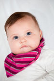 Portrait of a cute little baby — Stockfoto