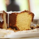 Torta ghiacciata appena sfornato — Foto Stock
