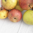 Stack of fresh apples — Stockfoto