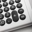 Desktop calculator, symbol of financial operations — Stock Photo