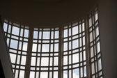 Curved window — Stock Photo