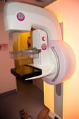 Mammogram x-ray machine in a hospital — Stock Photo