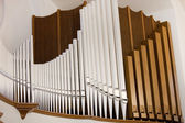 Impressive church organ — Stock Photo