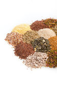 Cereal Grains and Seeds — Stock Photo