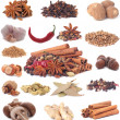 Stock Photo: Spices collection