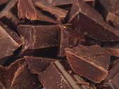 纹理巧克力 — 图库照片