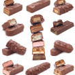Chocolate collection - Foto Stock