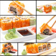 Fresh sushi — Stock Photo #24119225
