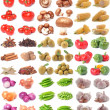 Vegetable collection — Stock Photo