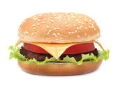 Appetizing hamburger — Stock Photo