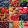 The freshest and useful fruit and berries — Stock Photo