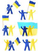 Ukraine Togather — Stock Photo
