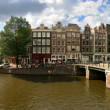 Amsterdam city panoramic view. — Stock Photo #12418002