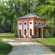 Small house in Racconigi Park. — Stock Photo