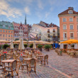 Stock Photo: City square. Riga, Latvia.