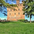 Grinzane Cavour Castle. Piedmont, Italy. — Stock Photo