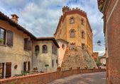 Castle of Barolo. Piedmont, Italy. — Stock Photo