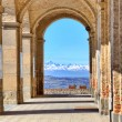 Ancient passage. Diano D — Stock Photo