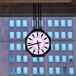 Big urban clock. Milan, Italy. — Stock Photo #16904099