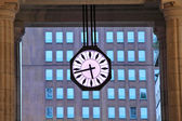 Big urban clock. Milan, Italy. — Stock Photo