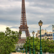 Stock Photo: Eiffel Tower. Paris, France.
