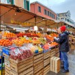 Agricultural market in Venice, Italy. — Stock Photo