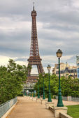 Eiffel Tower. Paris, France. — Stock Photo
