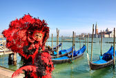Traditional carnival in Venice, Italy. — Stock Photo