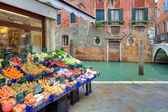 Small market. Venice, Italy. — Stock Photo
