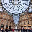 Stock Photo: GalleriVittorio Emanuele II. Milan, Italy.