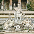 Sculptural composition on Piazzdel Popolo in Rome. — Stock Photo #19048785