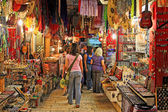 Old Jerusalem market. — Stock Photo