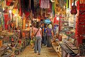 Viejo mercado de jerusalén. — Foto de Stock