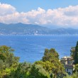 View on Ligurian sea. — Stock Photo
