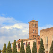 Santa Francesca Romana church. Rome, Italy. - Stock Photo