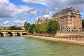 Parisian urban view. — Stock Photo