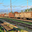 Rusty freight cars. Cuneo, Italy. — Stock Photo #21230985