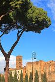 Santa Francesca Romana church. Rome, Italy. — Stock Photo