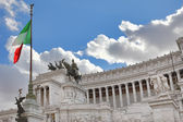 Victor Emmanuel II Monument. Rome, Italy. — Stock Photo