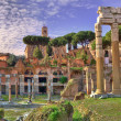 Ancient ruins. Rome, Italy. — Stock Photo