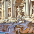 Trevi Fountain. Rome, Italy. - Foto Stock